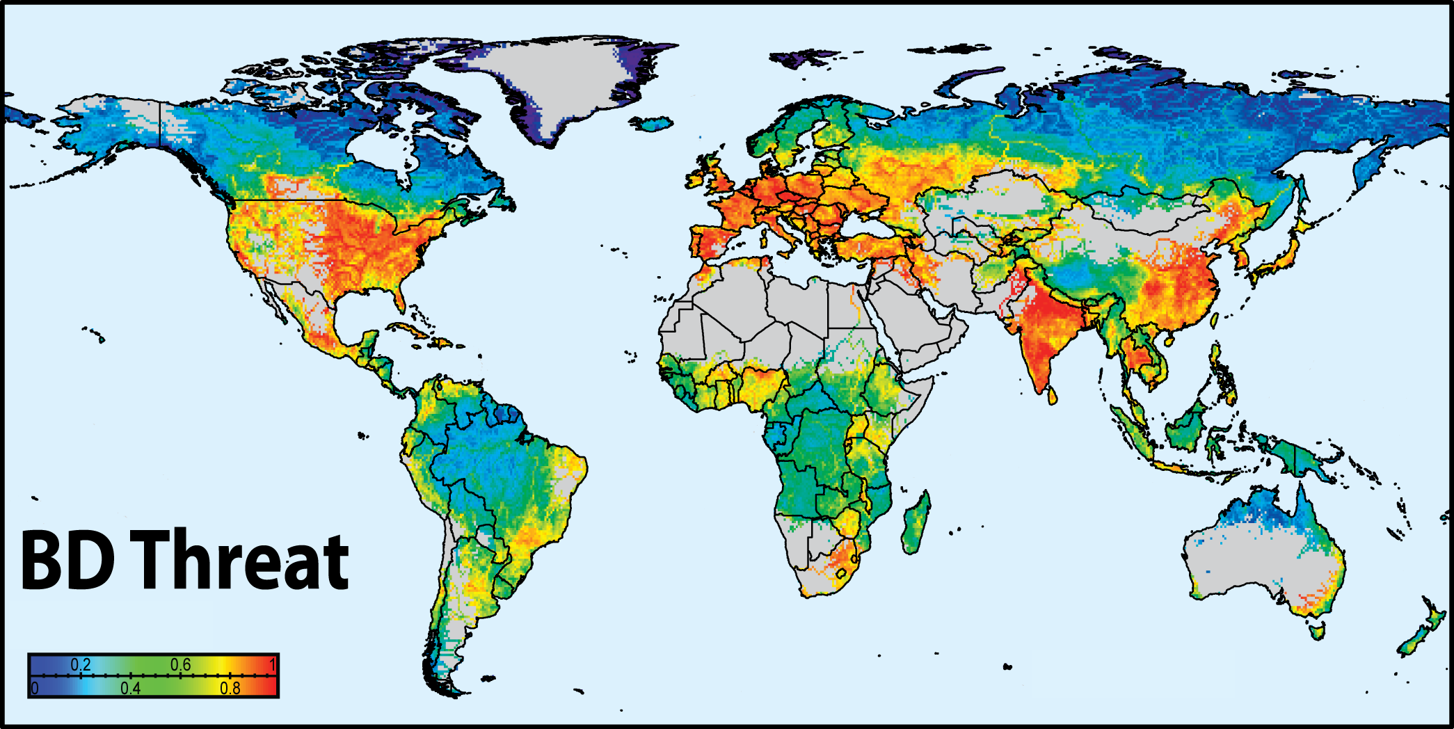 Nature study identifies need for new data to map the effect