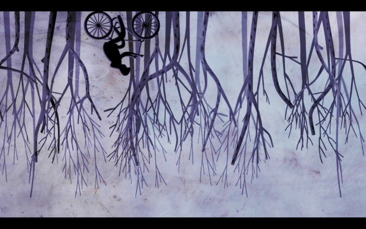 Screenshot from 'Water Lives...' animation (2012)