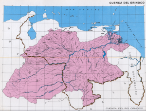 The Orinoco river basin is located in Venezuela and Columbia. Photo: Creative Commons.