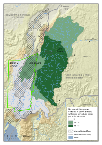 Proposed oil exploration in virunga s lake edward a for Oily fish representative species