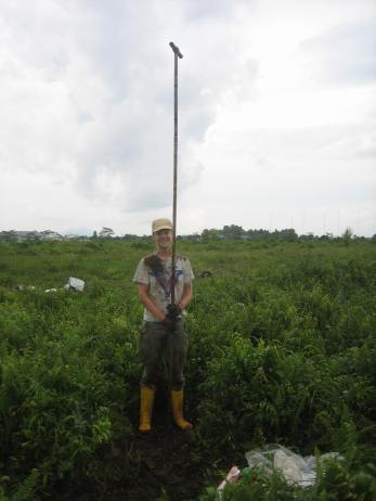 Lydia Cole has studied the resilience of peat swamp forests in Sarawak, Malaysia, using pollen cores