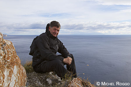 Michel Roggo at Lake Baikal, Siberia
