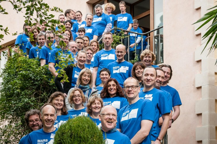 MARS partners at the Mallorca meeting