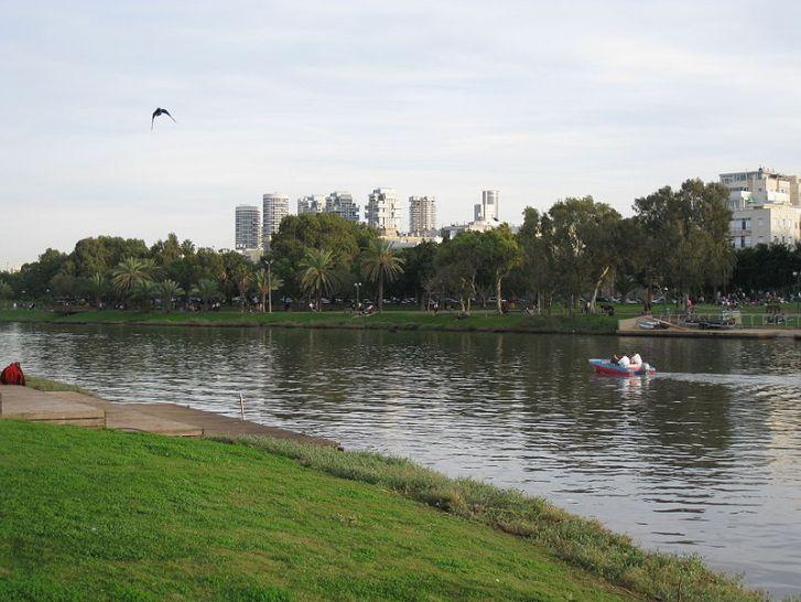 Yarkon River, Tel Aviv (Image: Wikipedia)
