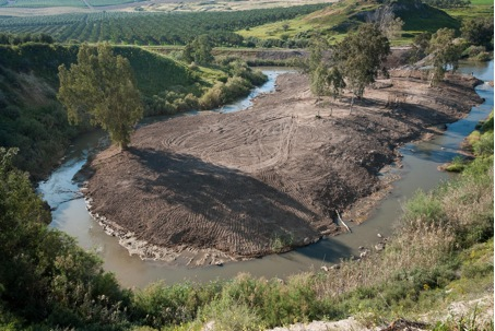 A restored section of the Upper Jordan River (Image: Christian Feld)
