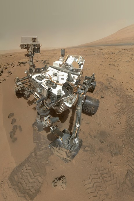 Artists impression of the Curiosity Rover.   Image: NASA/JPL-Caltech/Malin Space Science Systems