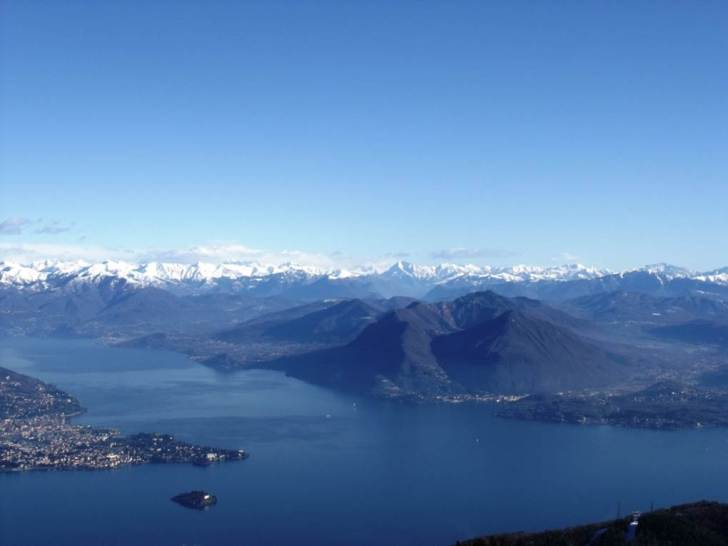 "Working at the European Commission at Ispra, Italy also allowed for frequent ""sampling"" trips to Lago Maggiore... Image: L Carvalho"