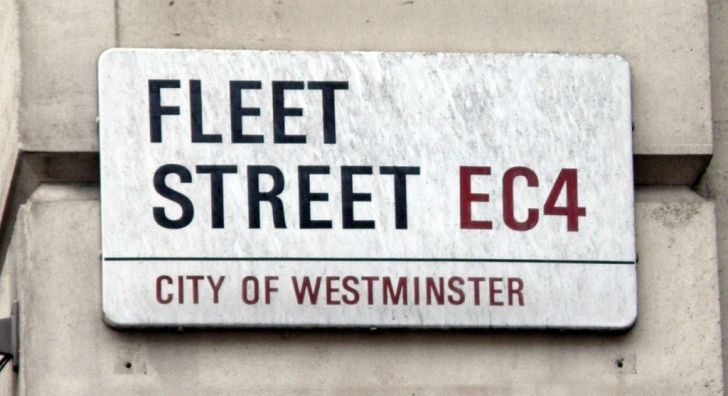 Looking for traces of the underground River Fleet in London.  Image: David Busch, Flickr