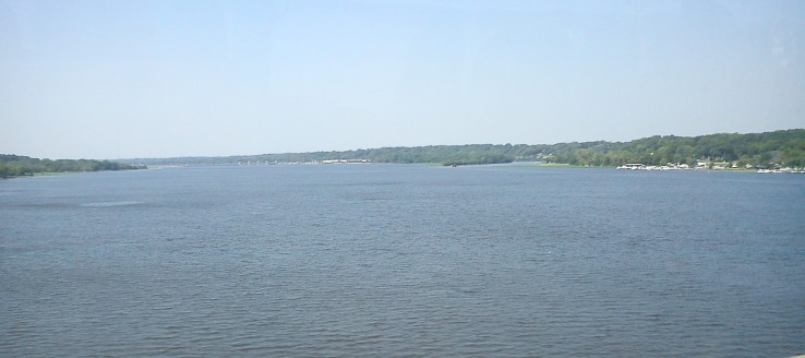 The Mississippi River.  Image: Y Panagopolous
