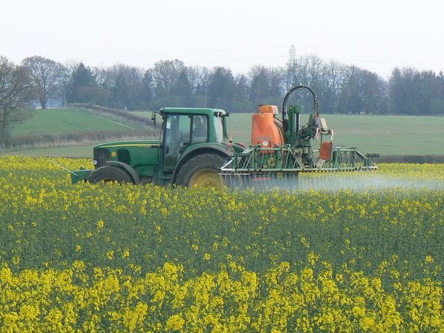 Crop spraying.  Image: Brian Robert Marshall | Creative Commons Licence