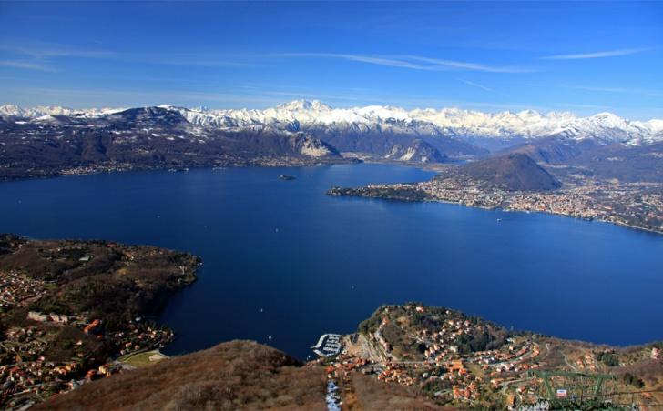 Lake Maggiore in Italy.  Image: Alexander Vecchi, Wikipedia