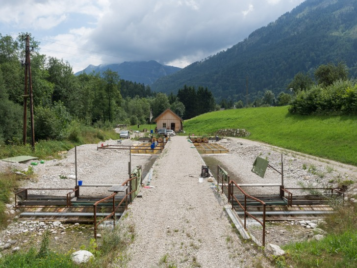 The Hytech experimental channels in Austria.  Image: Christian Feld