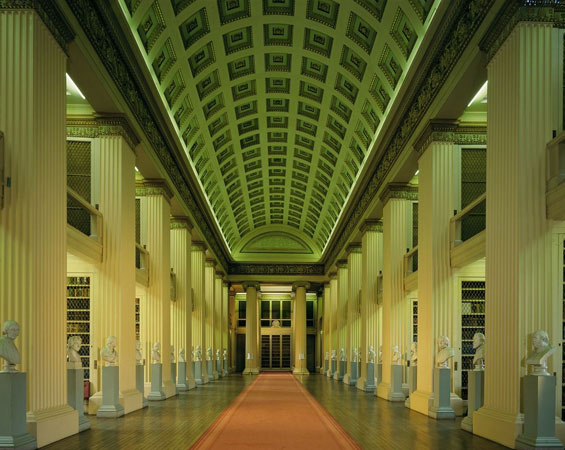 Playfair Library, Edinburgh.  Image: Edinburgh University