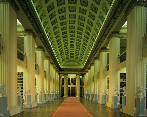 Playfair Library, Edinburgh.  Image: Edinburgh University