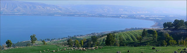 Sea of Galilee in Israel.  Image: Wikipedia