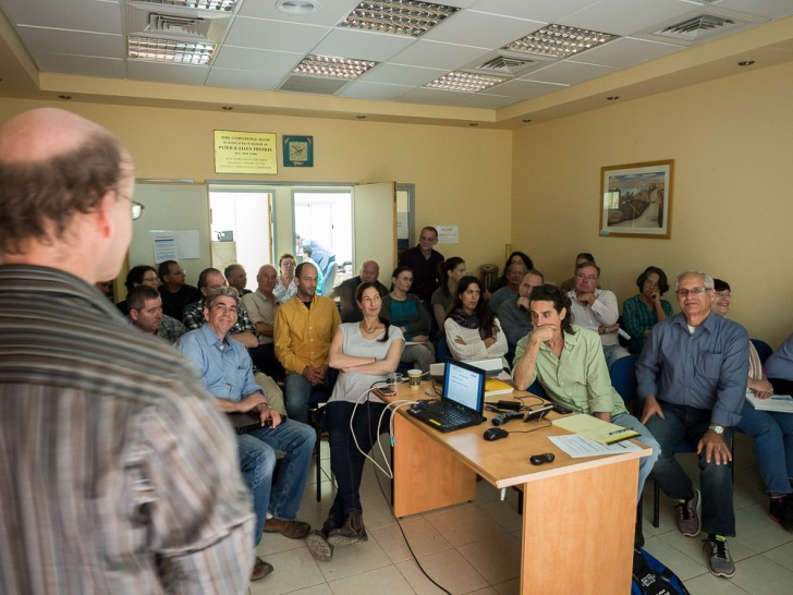 A symposium was held at Kinneret Limnological Laboratory (KLL), to inform a wider group of scientists, and environmental and water managers about the project. Image: Christian Feld