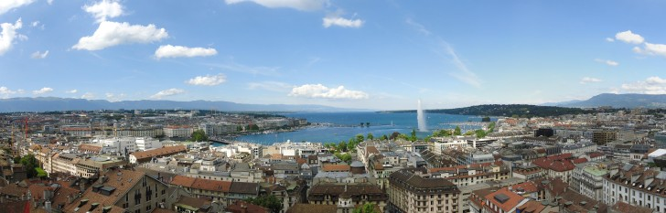 Geneva and Lake Geneva.  Image: Wikimedia | Viktar Palstsiuk