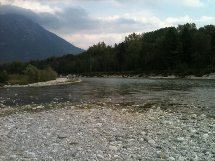 River Piave, Belluno, Italy. Image: Rafaela Schinegger