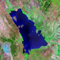Largest freshwater Mediterranean lake may dry out in this century due to climate change and abstraction