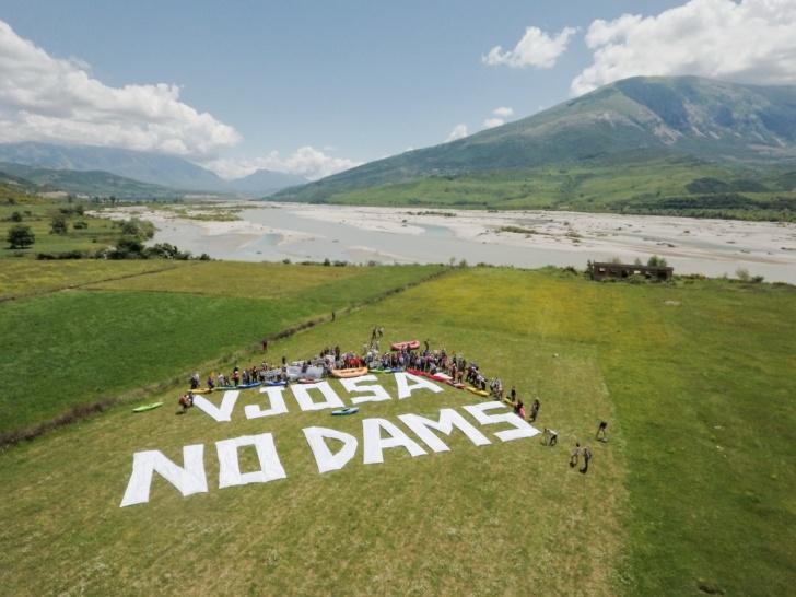 Vjosa No Dams Protest