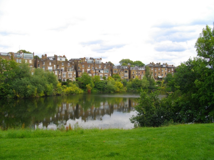 Hampstead Pond No.1 in North London.