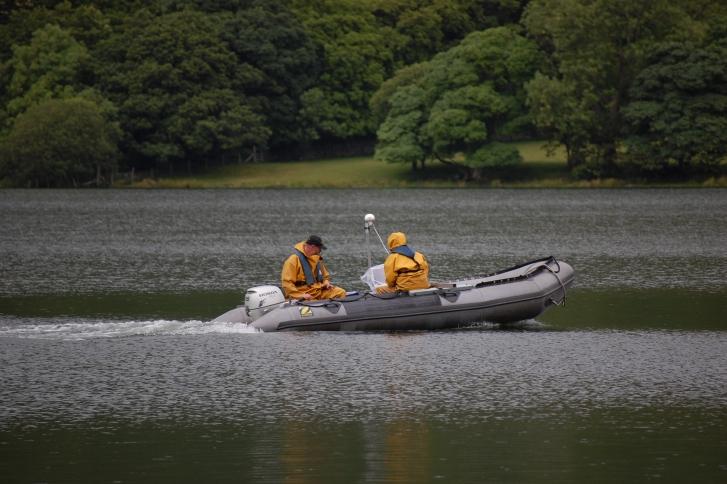 Lake monitoring Windermere