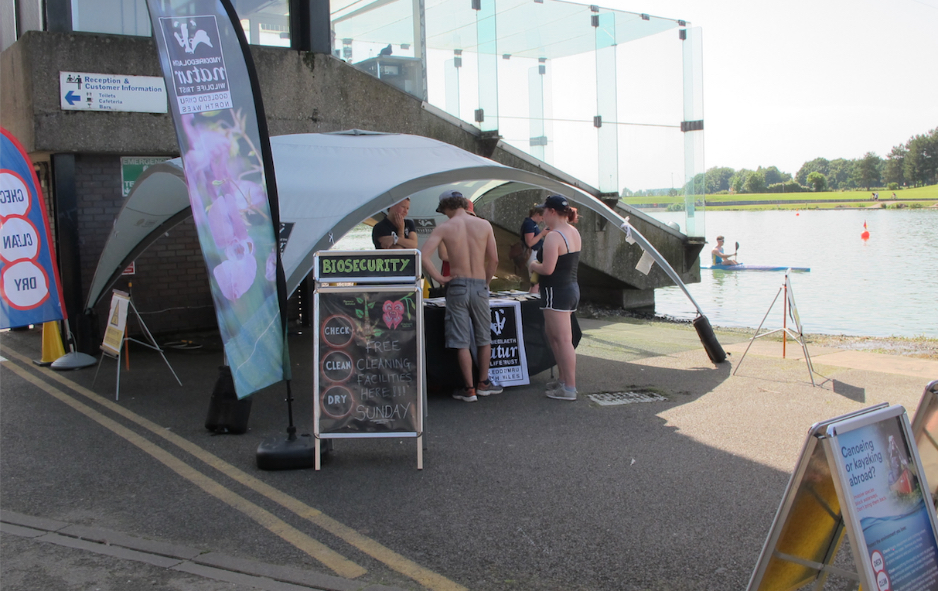 wildlife trust at national water sport centre